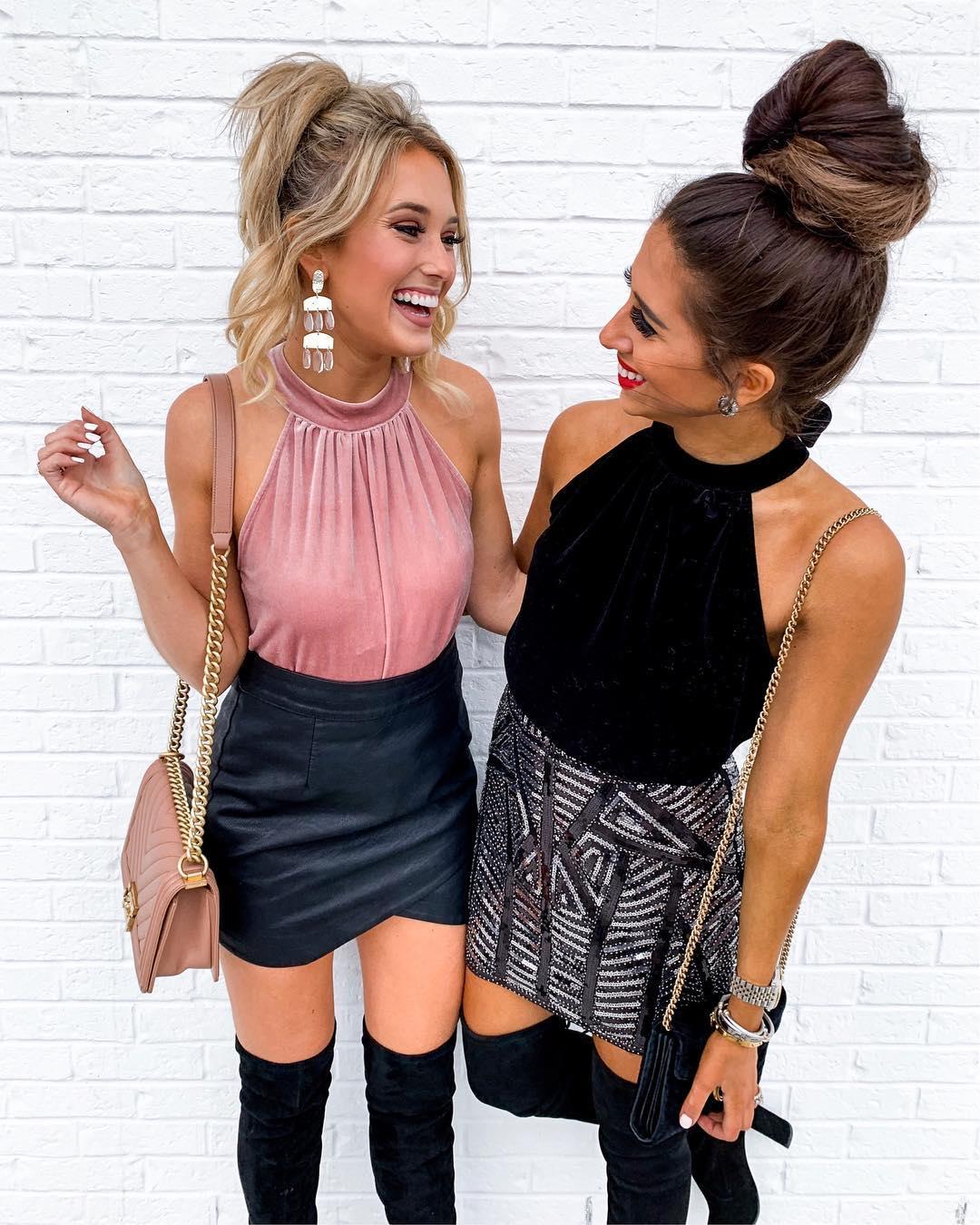 b103d34a47e05f Women Ladies Halter Neck Tie Elastic Hem Plus Size Sexy Party Top Blouse  Evening