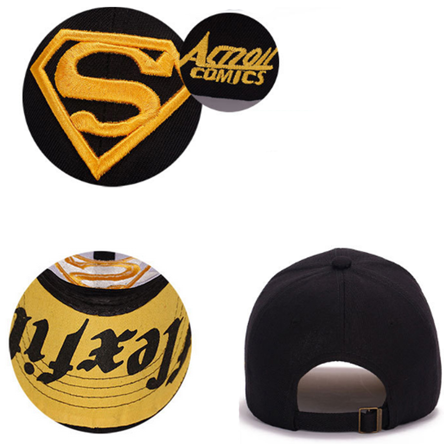 98beb26b0 Details about UK Men Unisex Snapback Adjustable Fit Baseball Cap Superman  Hip-hop Stretch Hat