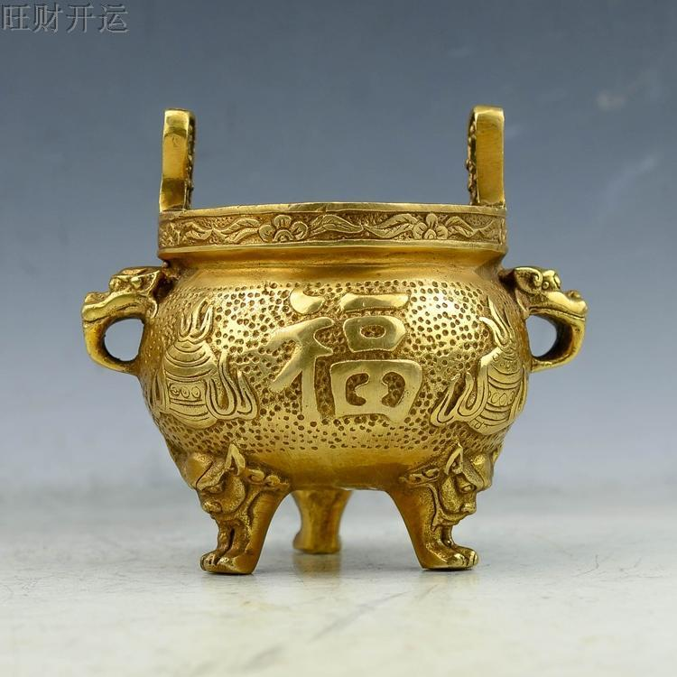 Other Asian Antiques Open-Minded Antique Miniature Chinese Bronze Censer Signed Asian Antiques