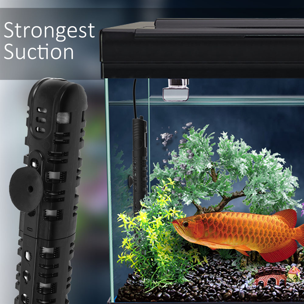 Fish aquarium price in pakistan - 25w 300w Aquarium Heater Fish Tank Thermostat Aquatic Proof Shatterproof Rod