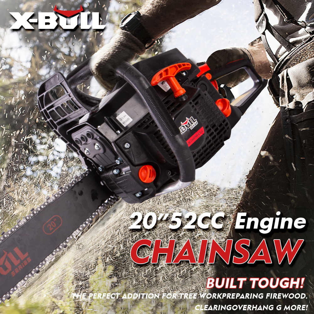 details about x-bull 52cc chainsaw 20
