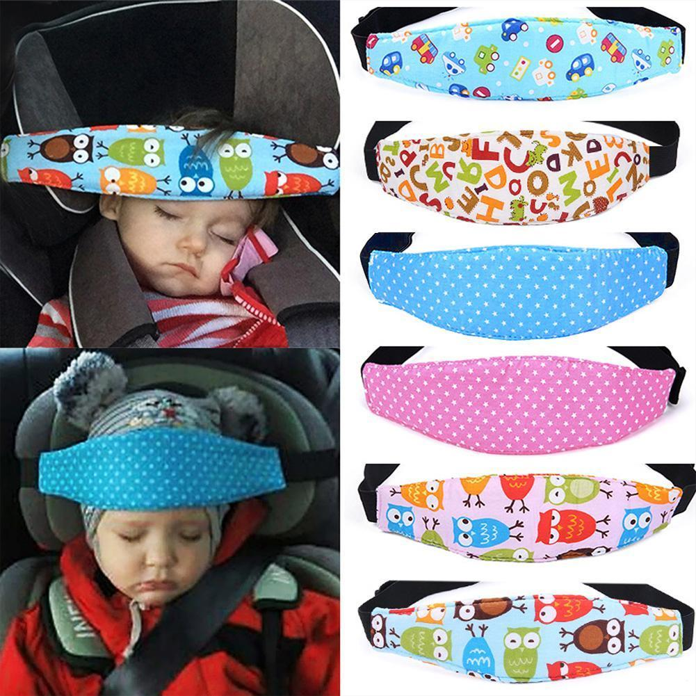 Baby Child Safety Car Seat Sleep Protector Belt Nap Aid Head soft Support Holder
