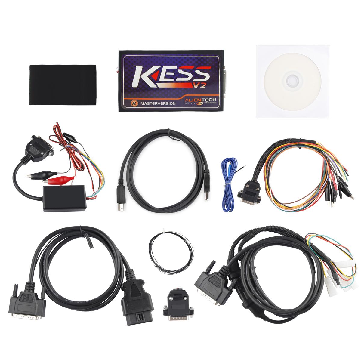 Details about Kess V2 V5 017 OBD2 Manager Tuning Car Truck ECU Programmer  No Tokens Limitation