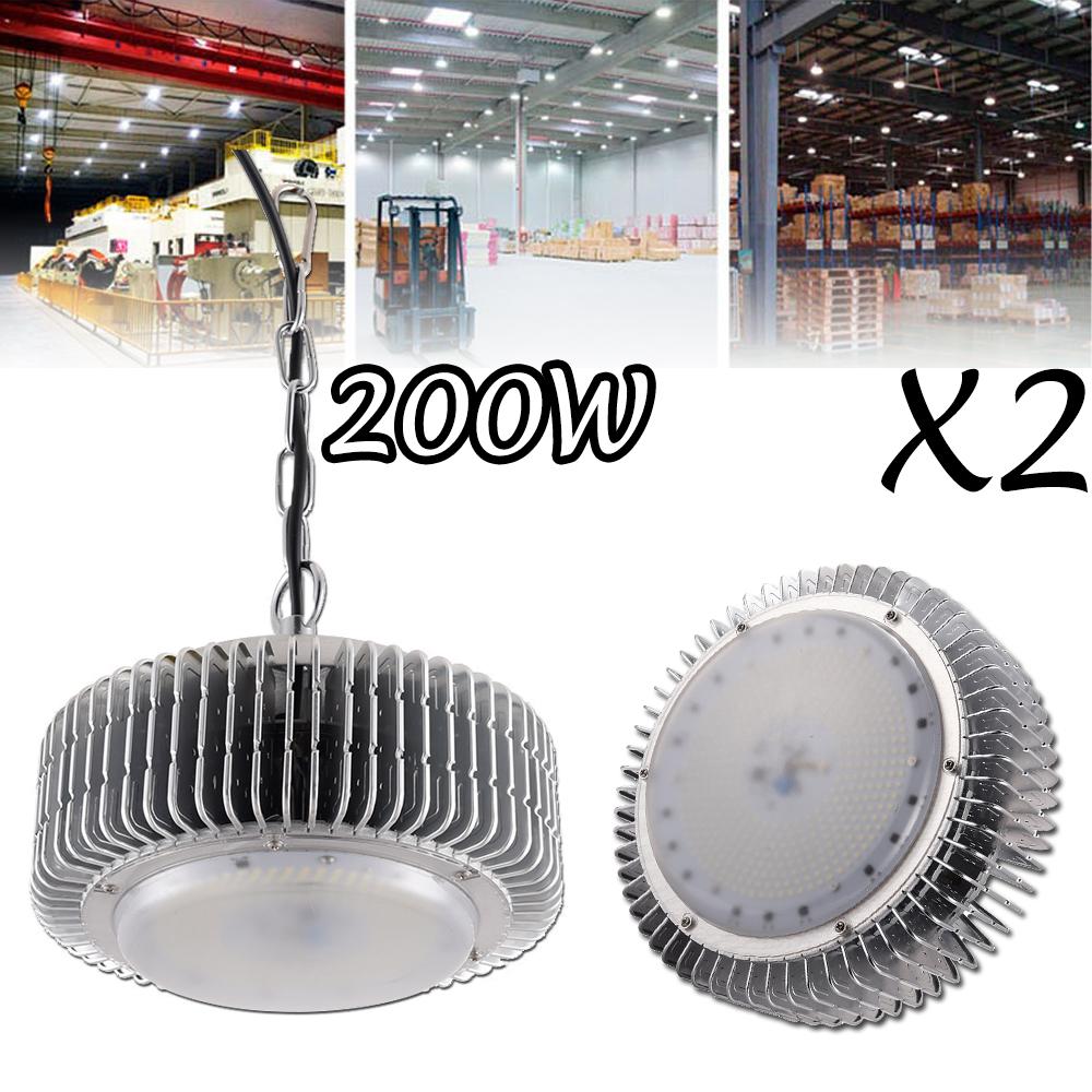 LOT 1-8PCS 150//250W UFO LED High Bay Light Industrial Factory Commerce Light MY