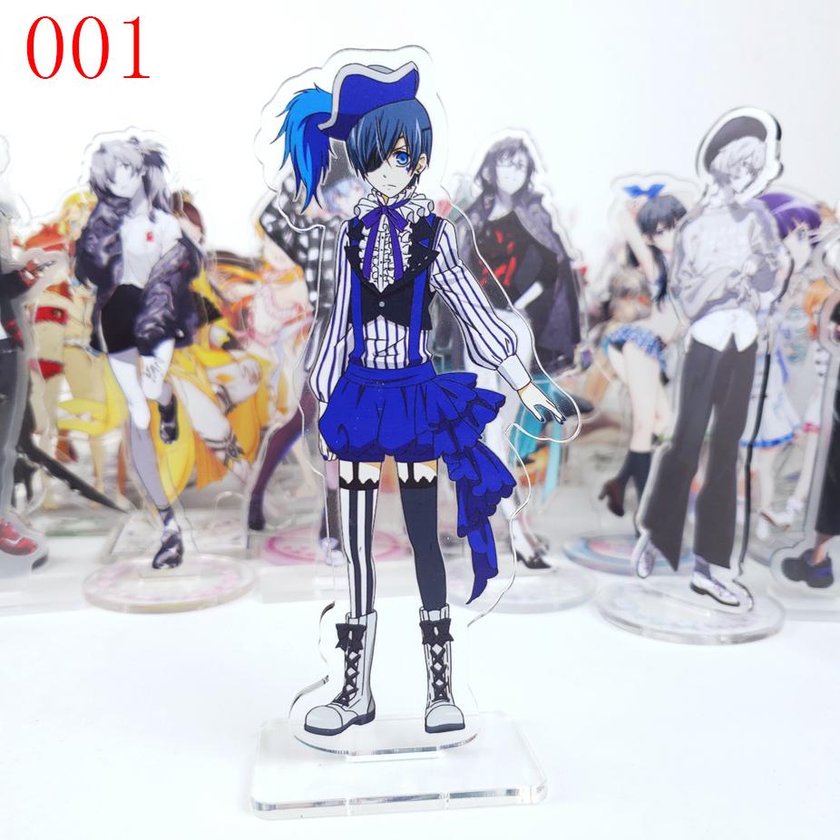 Black Butler Kuroshitsuji Dall Ciel Phantomhive Acrylic Stand Figure Gift