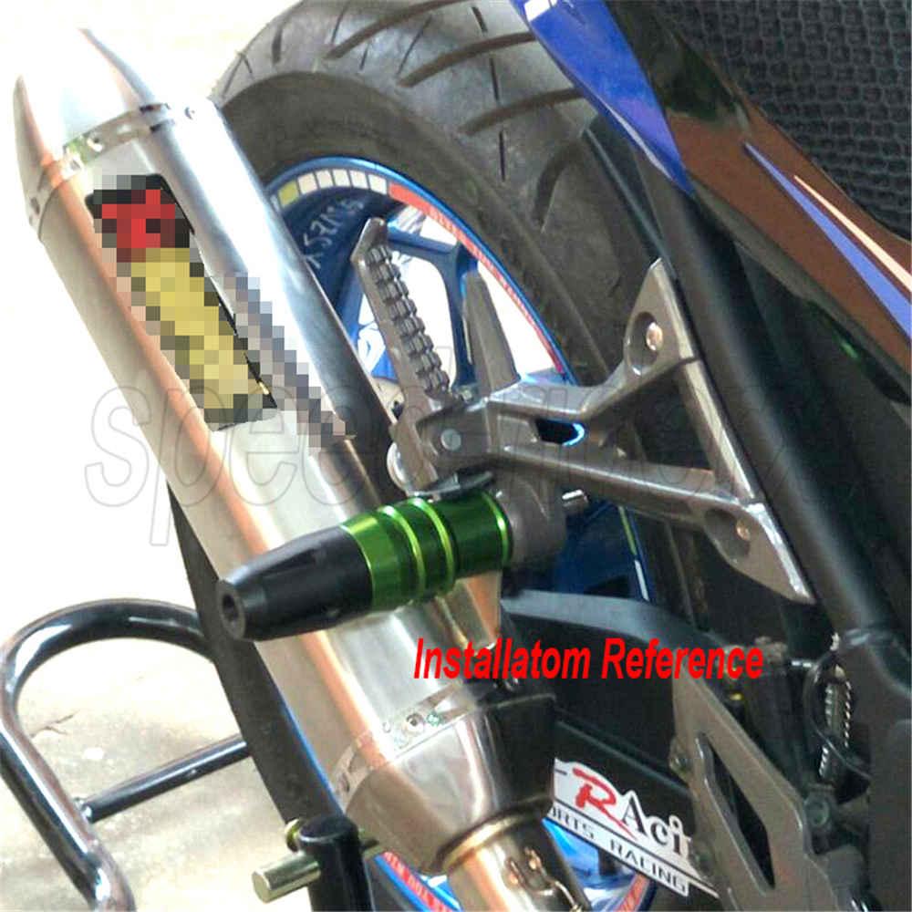 Crash Pads Exhaust Sliders Protector For Kawasaki Z250 Z300 Z750 Z800 Z900 Z1000
