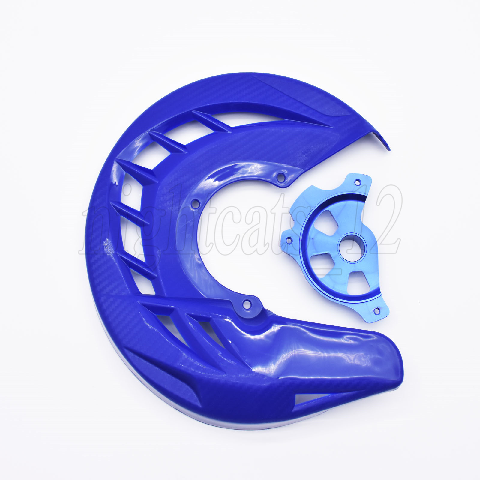 X-Brake Blue Front Brake Disc Cover Fit Yamaha WR250 WR450F YZ125 125X 250 250X