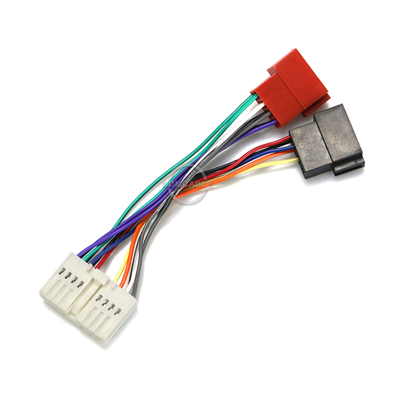 Iso Radio Adapter Wiring Harness Connector Lead Loom Cable