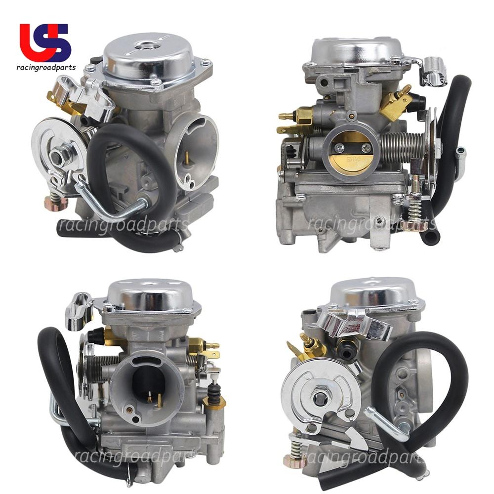 De Galen Traitement de carburateur 26 mm pour Yamaha Virago 250 V-star 250 Route 66//1988-2014 XV250 1995-2004 couleur : adaptateur XV250