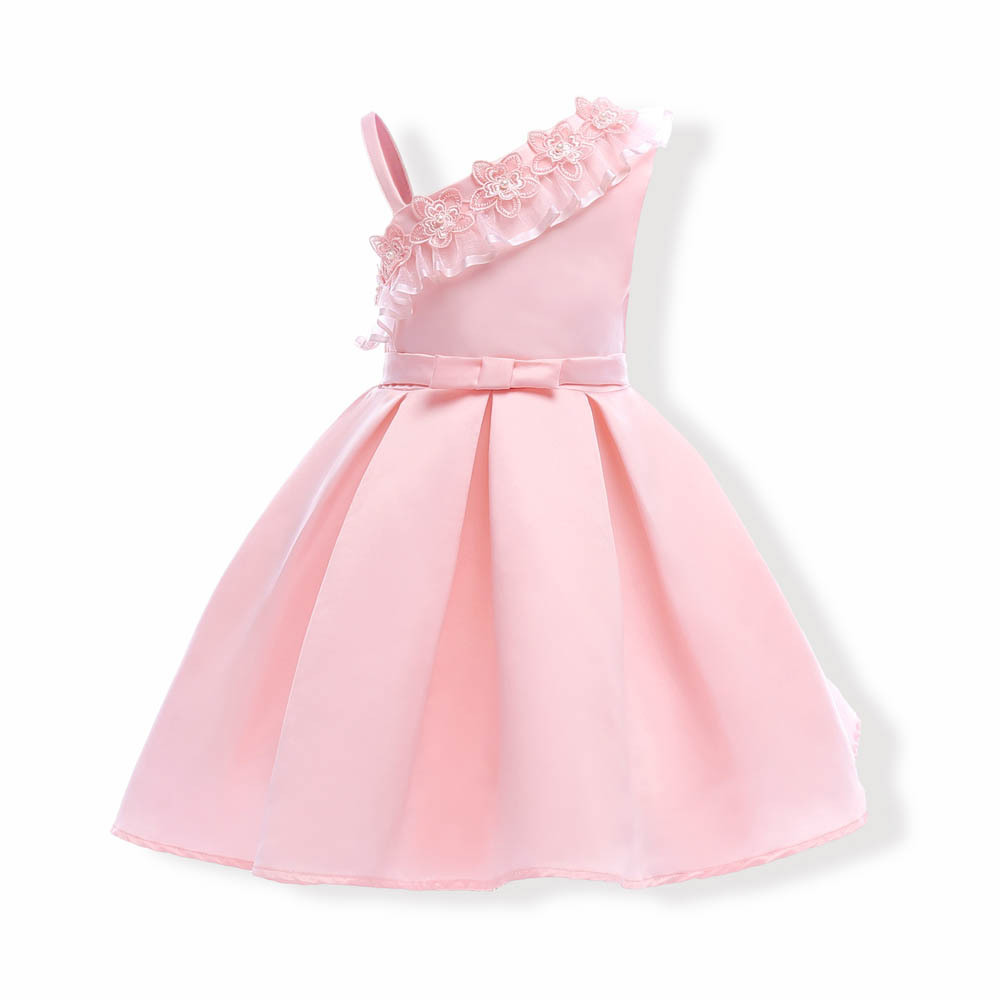 Girls Dress Princess Off shoulder Kids Baby Party Wedding Pageant ...