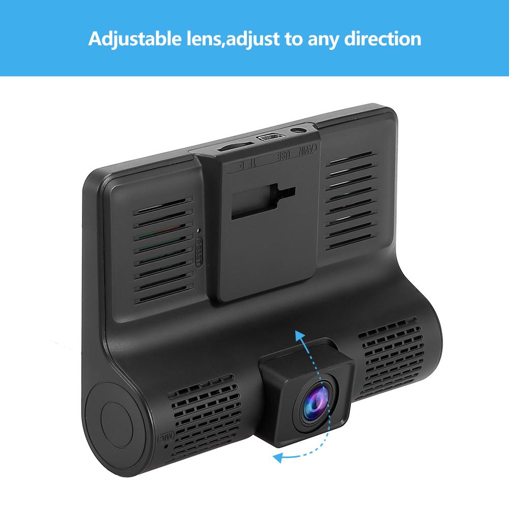 hd 1080p auto dvr dashcam kamera kfz recorder rearview. Black Bedroom Furniture Sets. Home Design Ideas