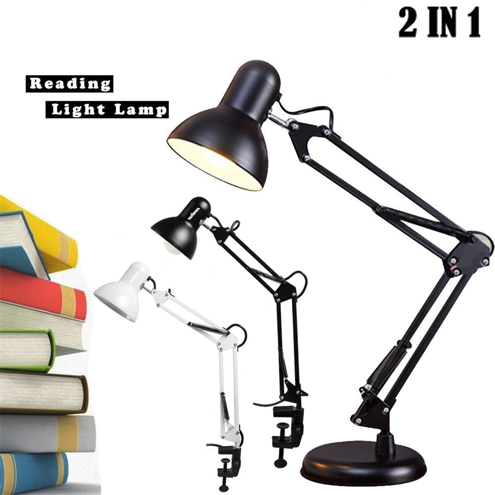 Swing Arm Architect Lamp Drafting Table Lamp Clamp, YOUKOYI A16 LED Desk Lamp