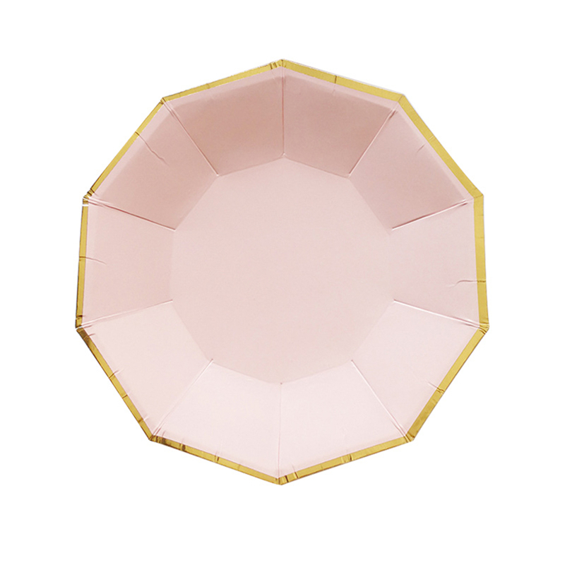 Birthday-Gold-Chevron-Party-Tableware-Set-Disposable-Paper-  sc 1 st  eBay & Birthday Gold Chevron Party Tableware Set Disposable Paper Plates ...