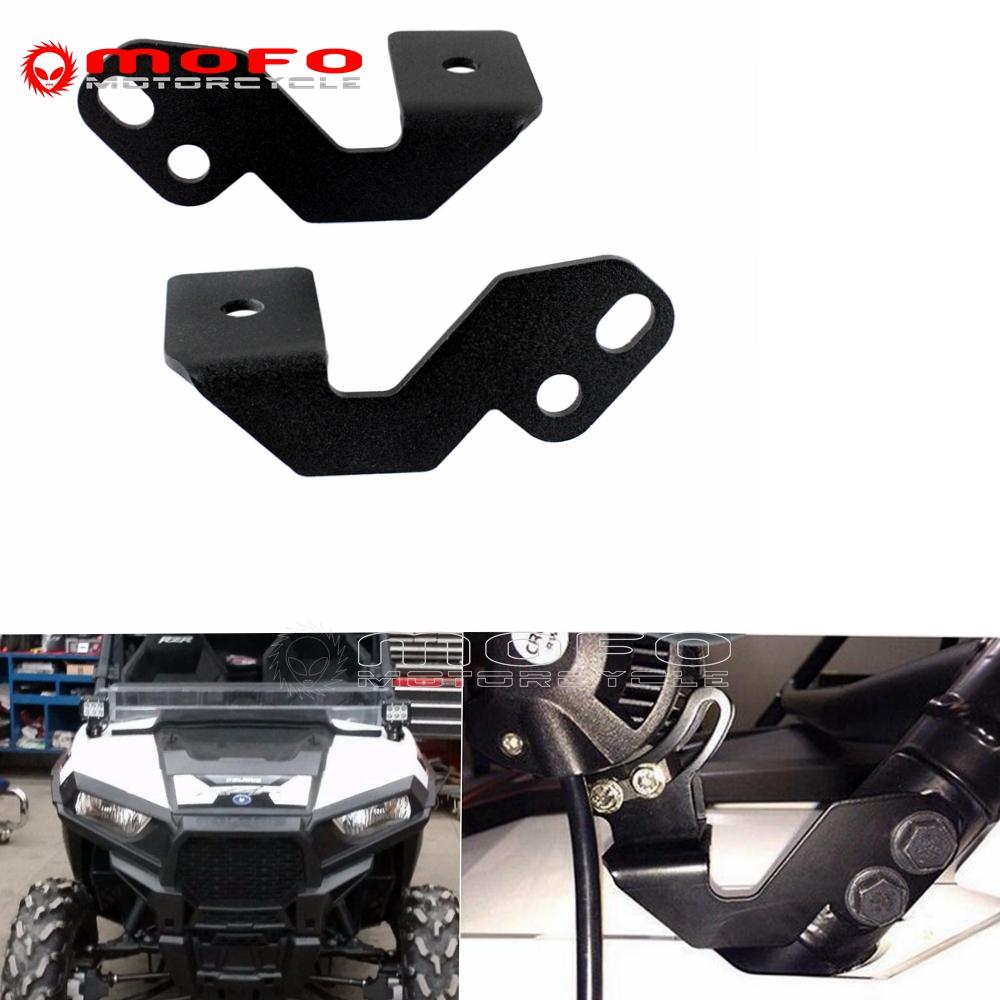 """UTV RZR ATV Mounting Bracket 1.75/"""" Roll Bar Pillar For LED Wrok Light Bar"""
