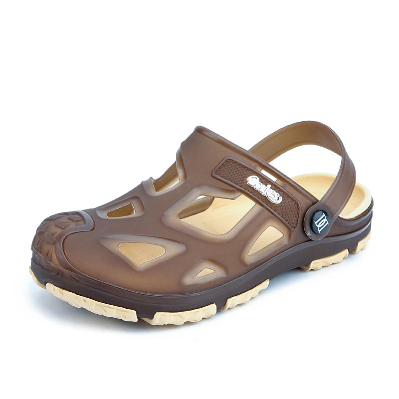 35f8dcaf31af Mens Outdoor Slipper Garden Shoes Sport Beach Sandals Open Toe Flip Flops  Sandal