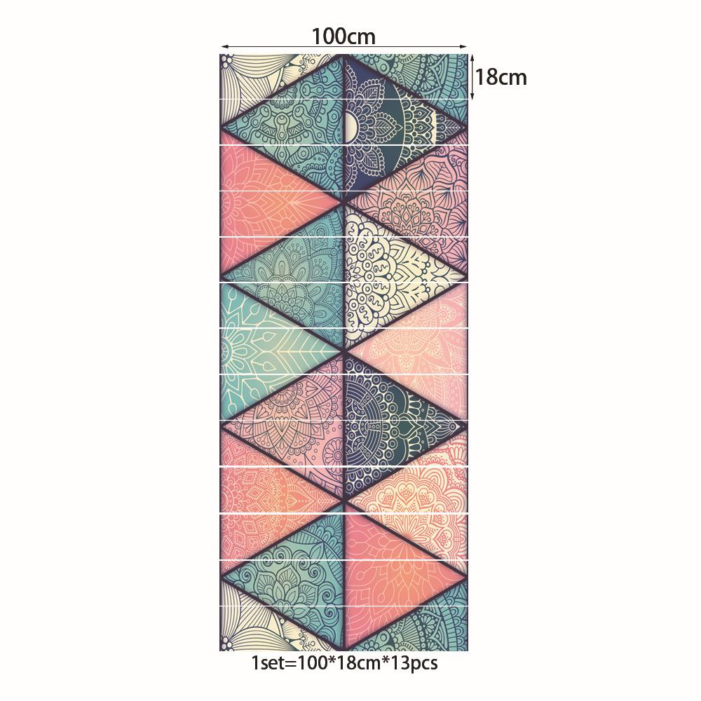 13x Treppe Riser Boden Vinyl Aufkleber 3d Selbstklebende