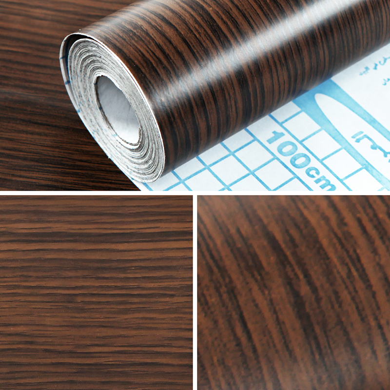 self adhesive vinyl roll sticky back wood grain door draw. Black Bedroom Furniture Sets. Home Design Ideas
