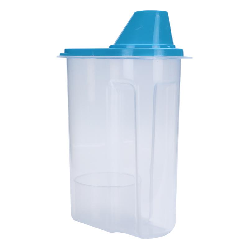 3x Plastic Cereal Dispenser Storage Box Kitchen Food Grain Rice Snacks  Container