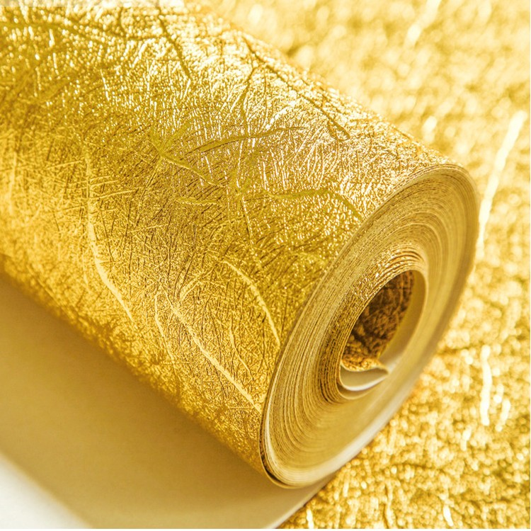 Details About Thicking Waterproof Gold Silver Foil Wallpaper Hotel Ktv Bars Tv Backdrop 5 3