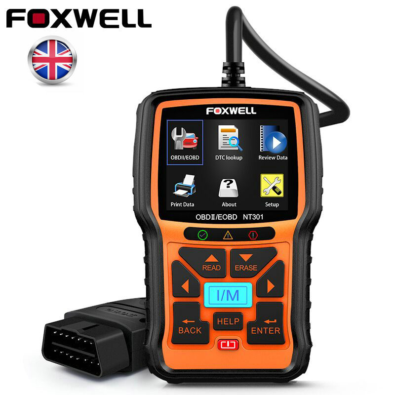 O2 Sensor Live Data: FOXWELL OBD2 EOBD Car Code Reader Engine Diagnostic