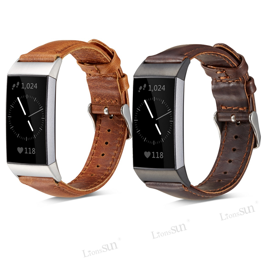 Fitbit Charge 2 Genuine Leather Band