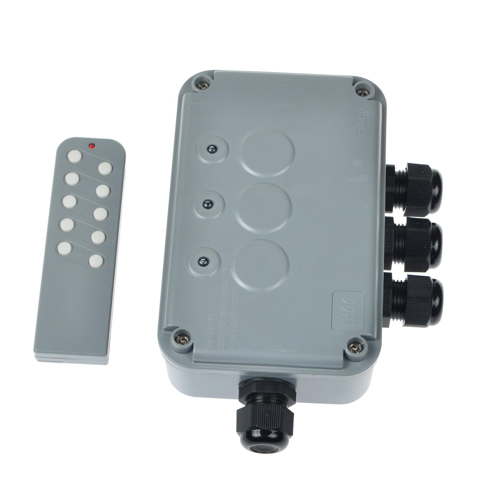 Weatherproof Exterior Outdoor Light Switch Garden 15 Amp IP66 Waterproof