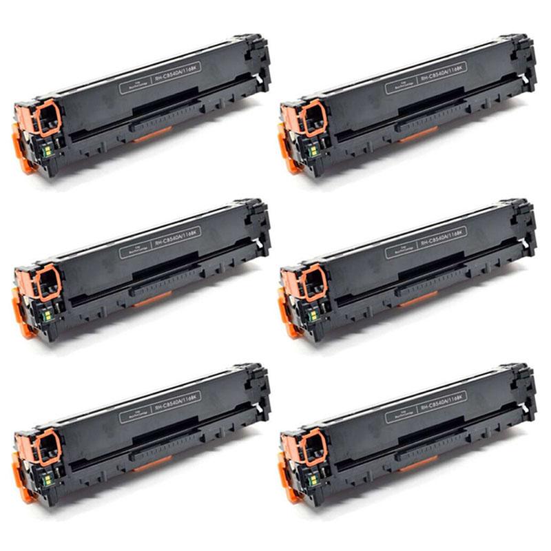 5PK CB540A CMYK Toner Set For HP 125A Color LaserJet CM1312 CP1215 CP1515 CP1518