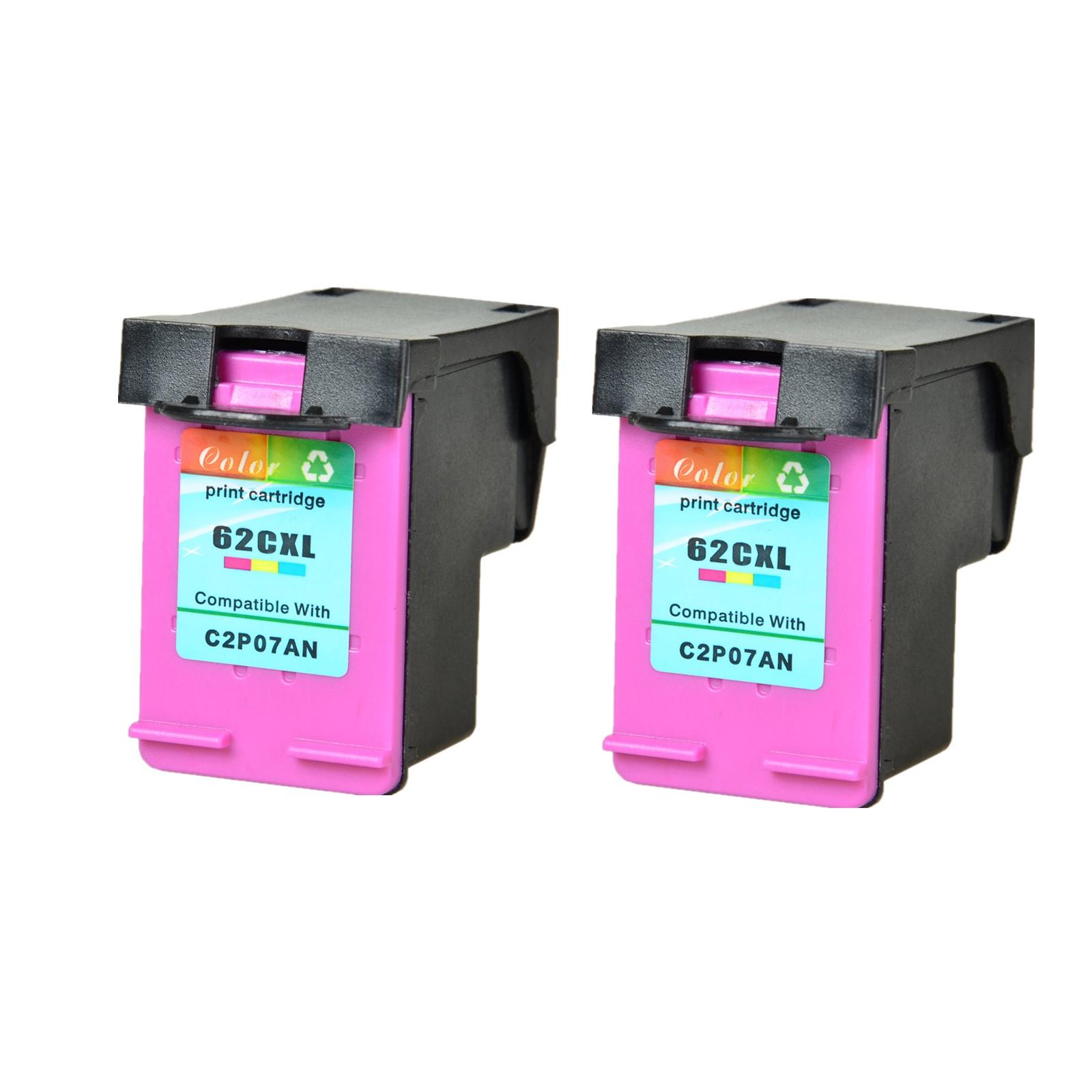 C2P05AN 1PK 62XL Black Ink cartridge For HP ENVY 5644 5646 5665 Officejet 8045
