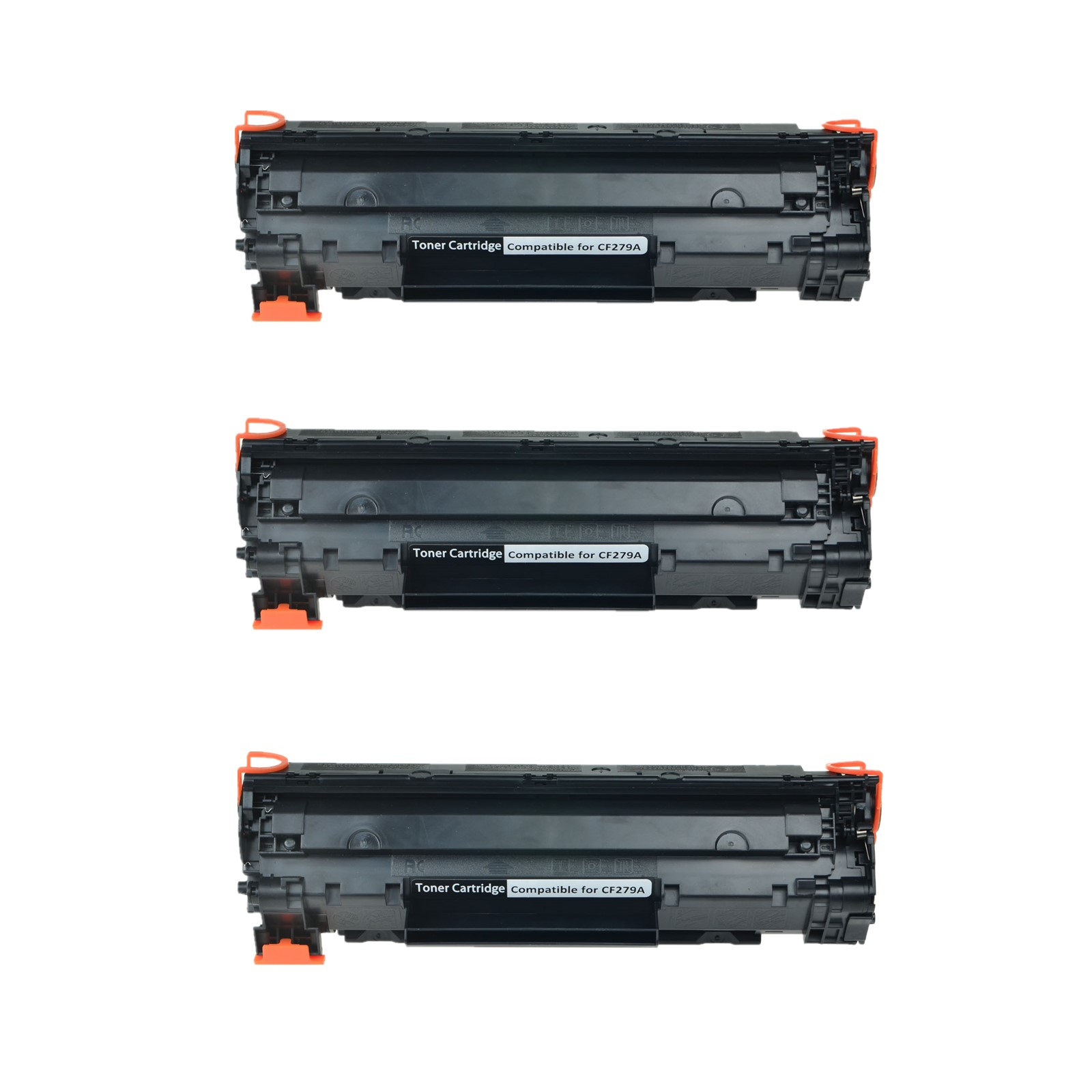 3PK CF279A 79A Black Toner Cartridge For HP LaserJet Pro MFP M26nw Printer - $27.99