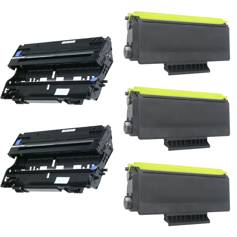 3PK TN560 Toner 2PK DR500 Drum Unit For Brother Intellifax 4750e 4750p 5750