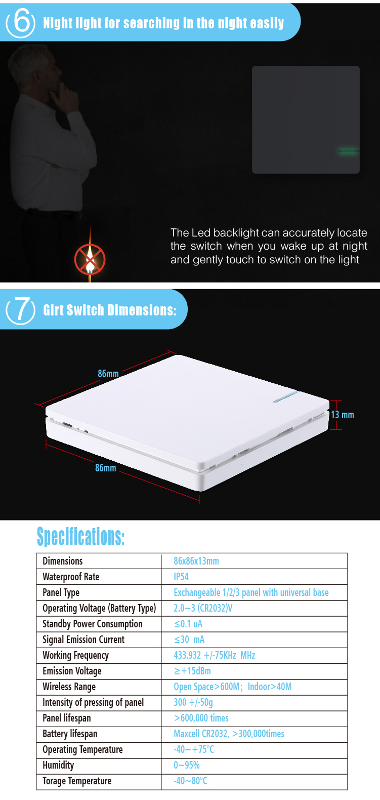 Designer 2way Wireless Power Switch Home Wall Light Lamp Led Remote Coming In At With 2 Way Switches Control 110v