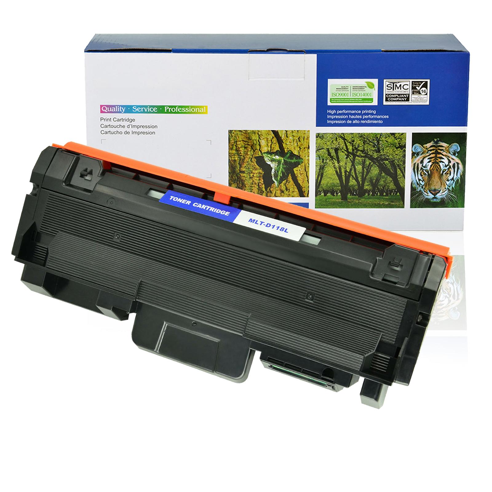 2PK MLT-D118L MLTD118L Toner Cartridge for Samsung Xpress M3015DW M3065FW XAA