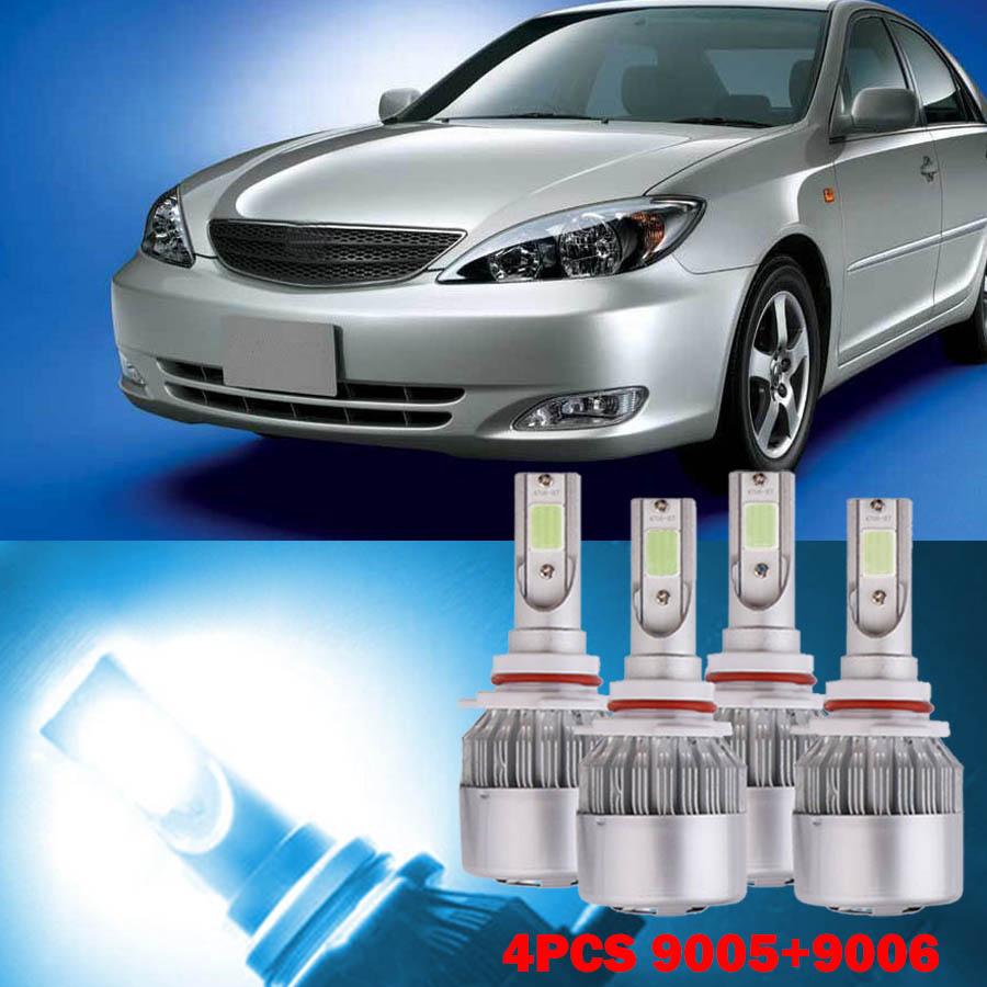 Automotive 2X LED Headlight Lights Bulb HiLo Beam Super