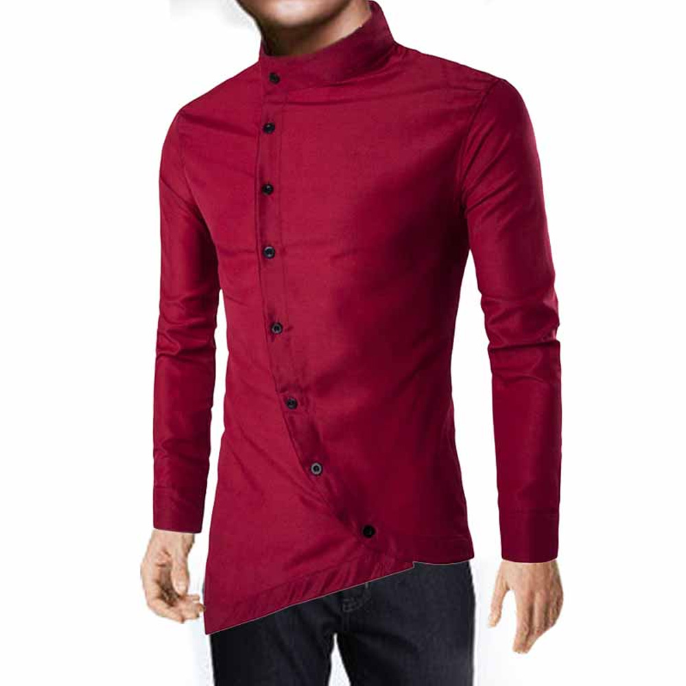 M-XXL-Fashion-Men-Casual-Shirts-Slim-Fit-Long-Sleeve-Stylish-Dress-Shirt-Top