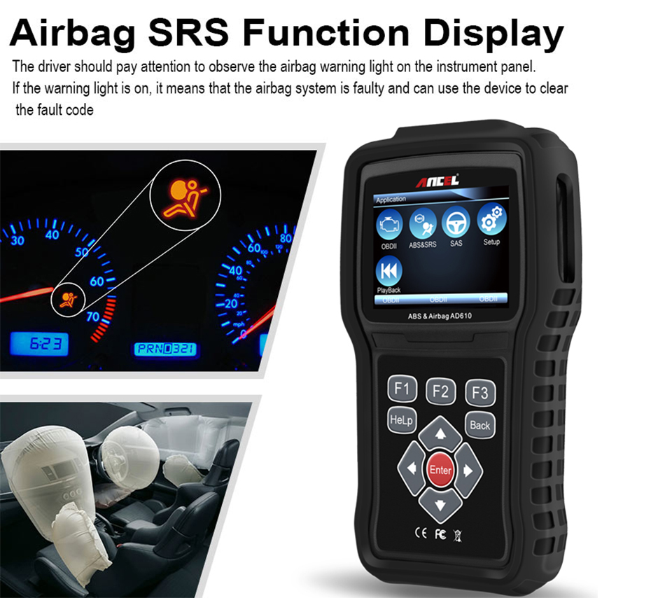 Bi Directional Scan Tool >> Auto OBD2 ABS Airbag SRS Reset SAS Scan OBD Diagnostic ...