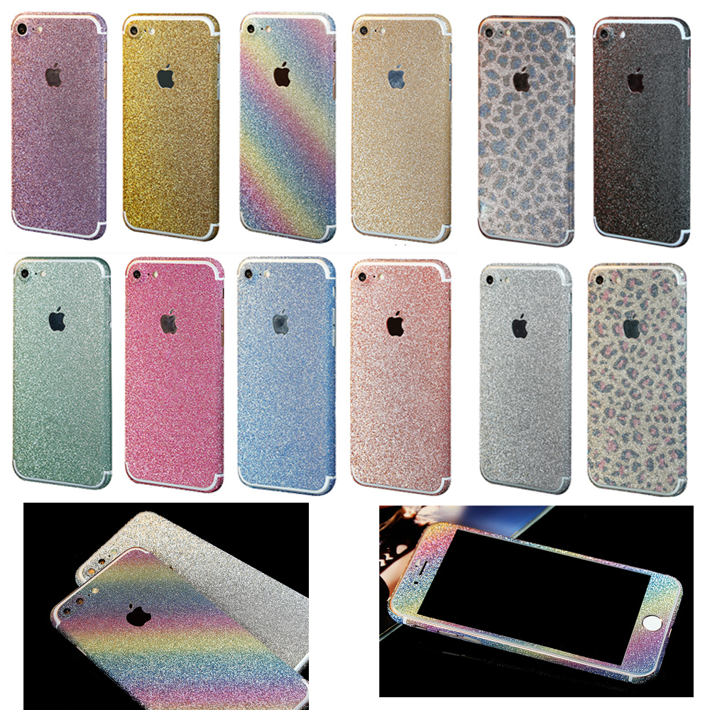 newest 81089 0fba8 Details about Glitter Crystal Bling Full Body Skin Decal Sticker for iPhone  7 8 Plus XR XS Max