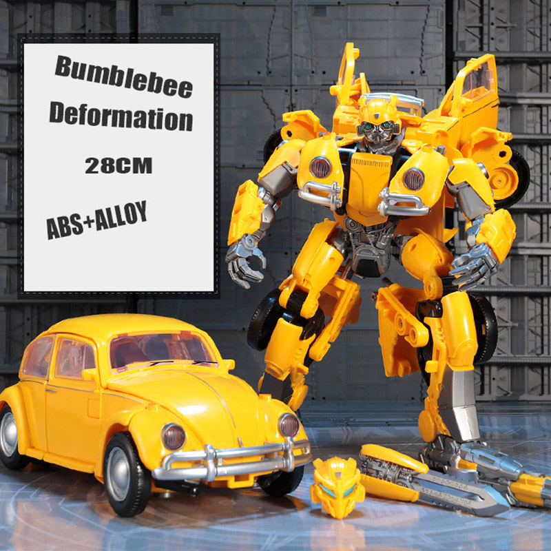 Alloy Transformers Bumblebee Figure Buublebee 28CM Action NEW Boxed Toy