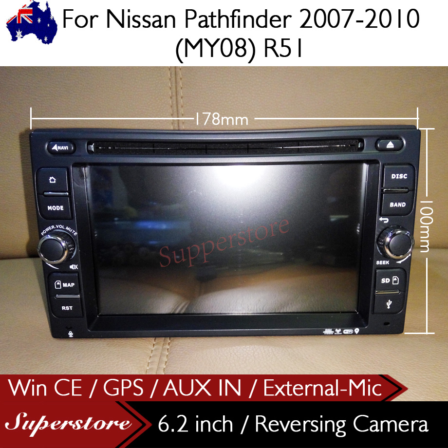 Car dvd gps for nissan pathfinder 2007 2010 my08 r51 with aux in car dvd gps for nissan pathfinder 2007 2010 my08 r51 with aux in external mic fandeluxe Gallery