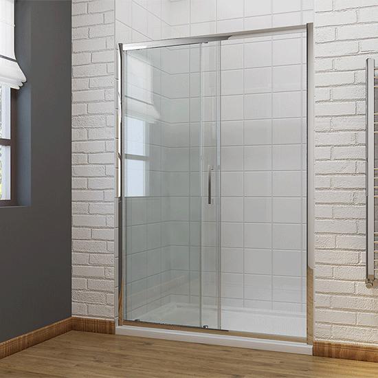 110cm duschkabine duschabtrennung schiebet r duschwand 8mm. Black Bedroom Furniture Sets. Home Design Ideas