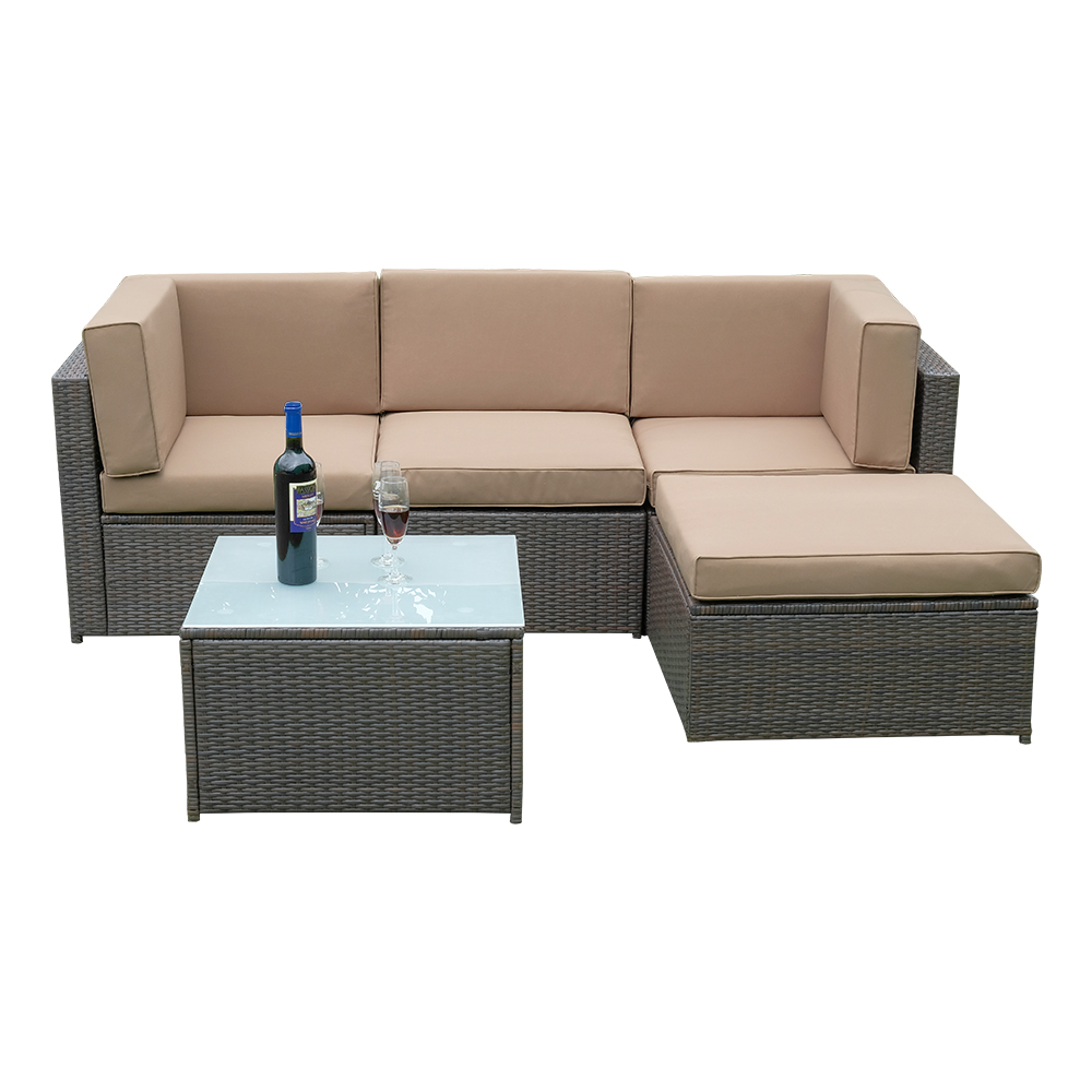 Corner Recliner Sofa Ebay: NEW RATTAN GARDEN FURNITURE