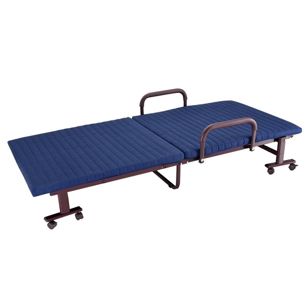 3ft metal fold up guest compact bed folding beds. Black Bedroom Furniture Sets. Home Design Ideas
