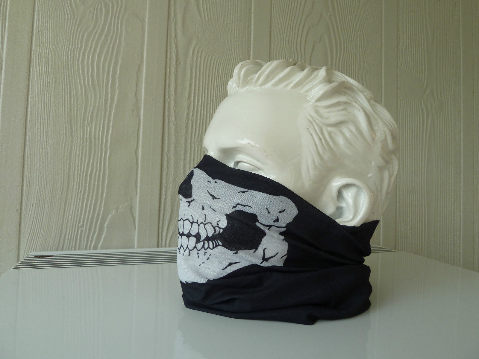 Ghost Face Masks Ghost Cosplay Costume Wear Neck Head Hat