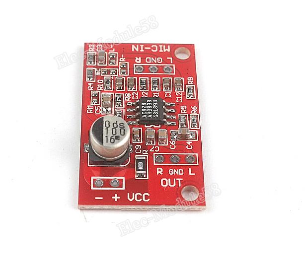 Groovy Links Dynamic Microphone Amplifier For Earphones Ecm Mic Wiring 101 Akebretraxxcnl
