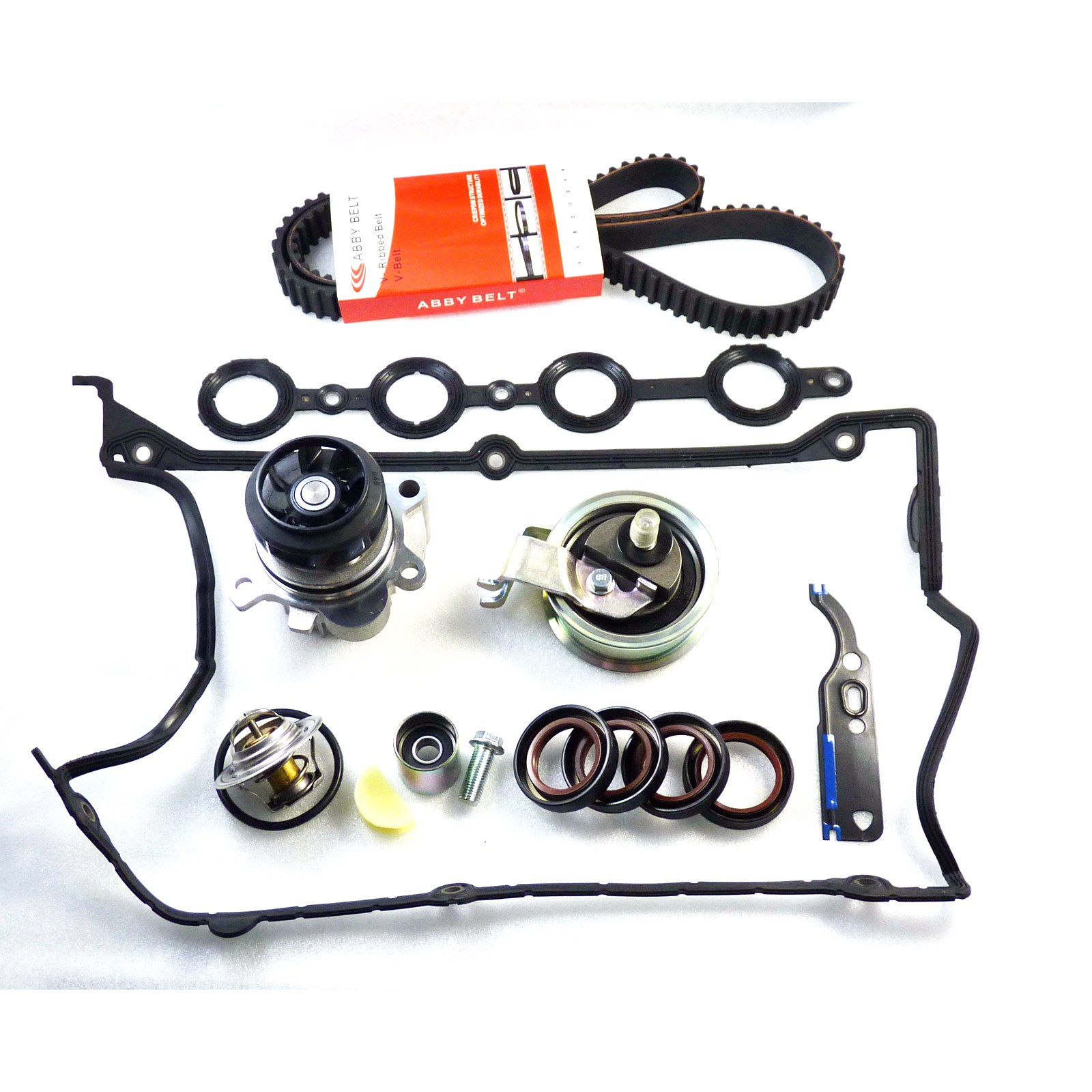 For Audi Vw 18t Timing Belt Water Pump Valve Cover Gasket Jetta 1 8t Thermostat Kit New