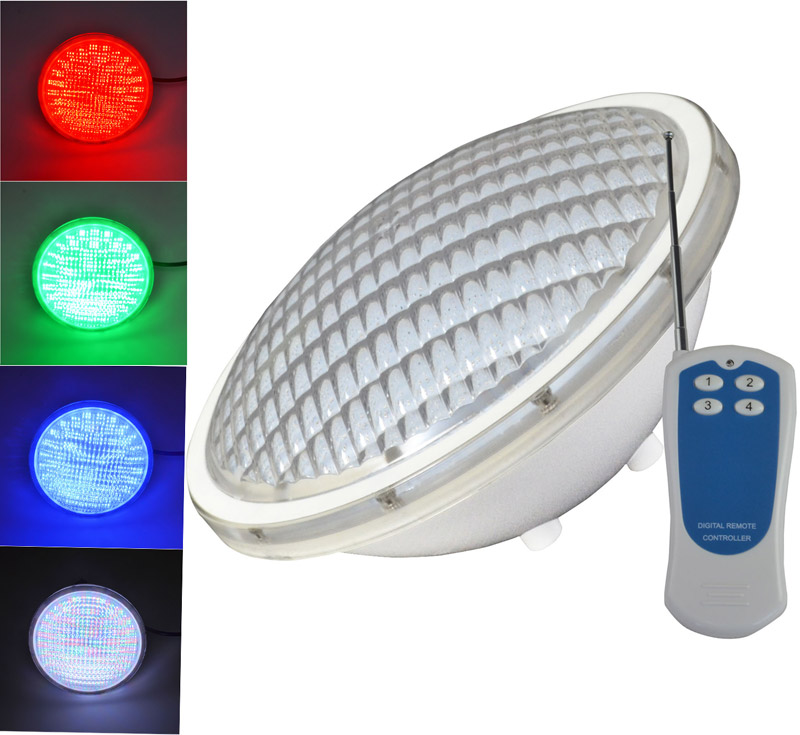 18-72W Swimming Pool LED Light RGB Bright Different Colours Controller