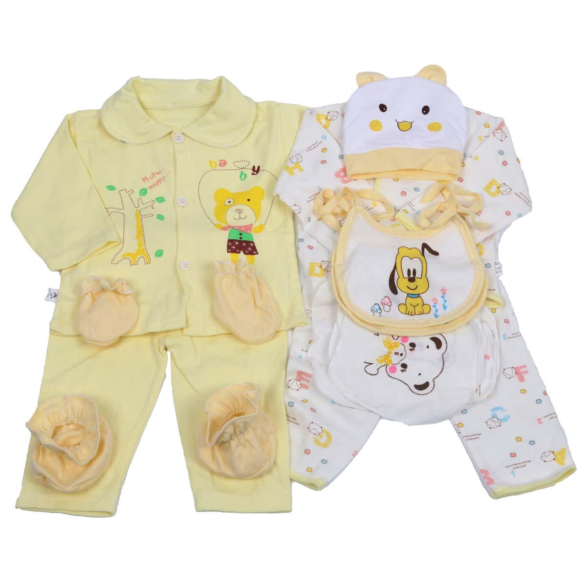 da0537ae7 18pcs set Newborn Baby Clothes Girls Boys Clothing Set Cute infant ...