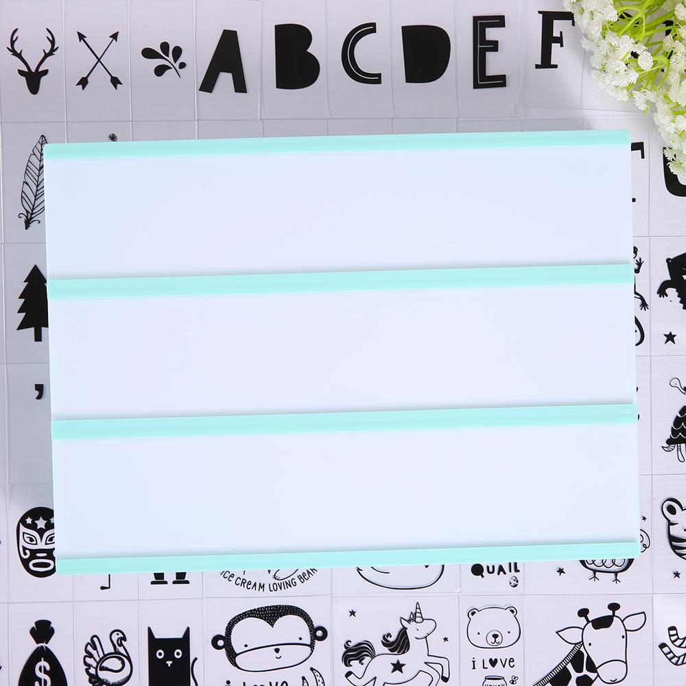 a4 led leuchtkasten 110 tiere buchstaben leuchtschild lichtbox gr n gift ebay. Black Bedroom Furniture Sets. Home Design Ideas