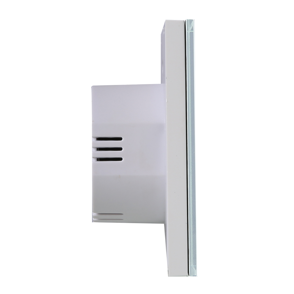 1 Gang 1 Way Touch Light Switch Wifi Control Glass Panel Work w ...