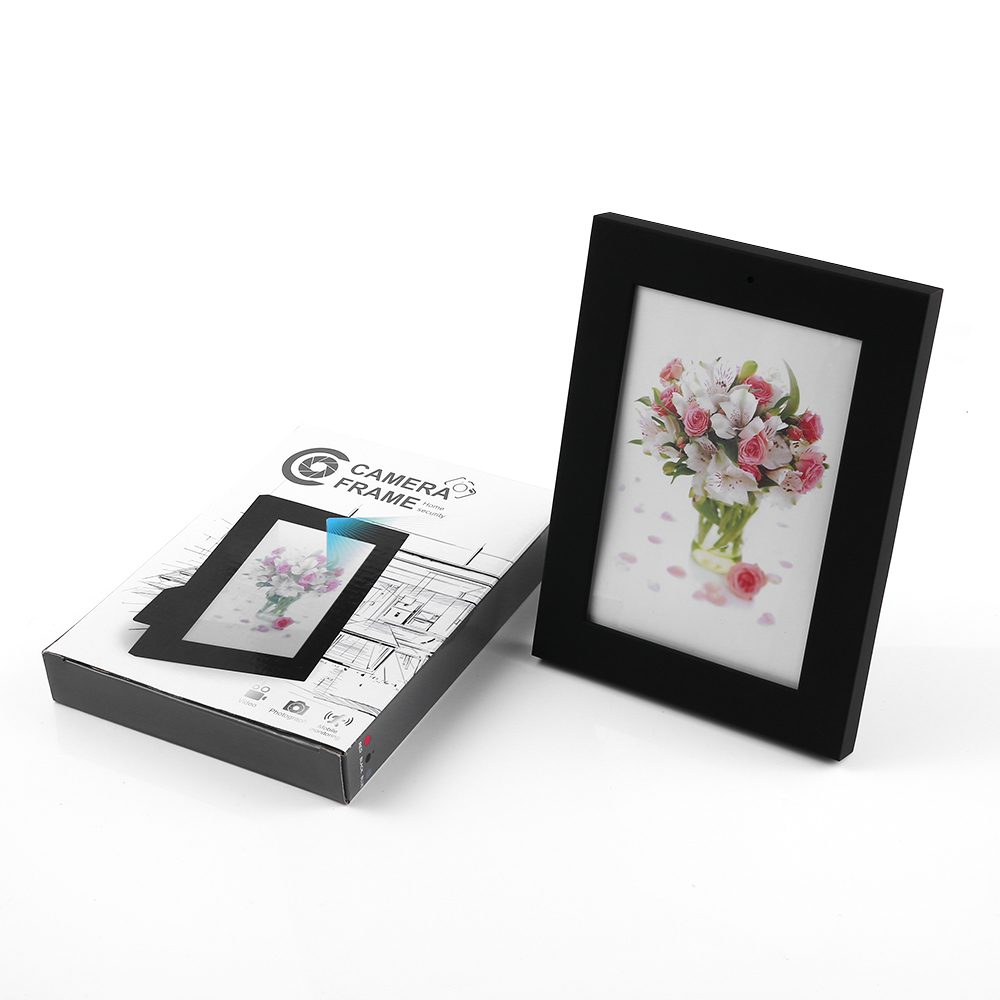 Black Photo Frame Spy Pinhole Camera Hidden Motion Detection Video ...