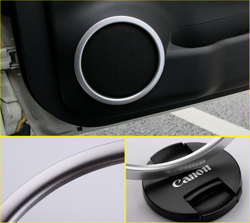 Matt Door Speaker Decorative Cover Trim for 2014-2018 Nissan Rogue X-Trail new
